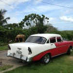 My taxi all week – 1956 Chevy Bel Air
